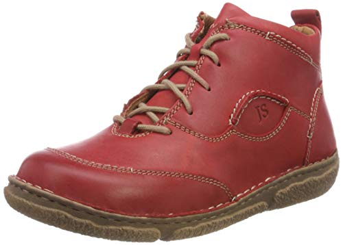 Josef Seibel Neele 34 - Rot Red (Leather) Womens Boots 10 - Shoes Ladies Seibel Josef