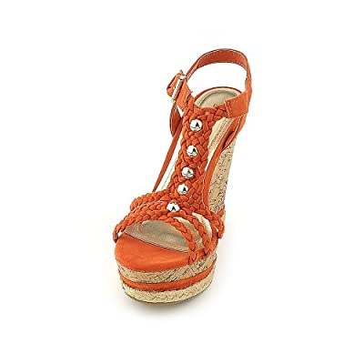 Bamboo Womens Kingsley-03 Casual Wedge