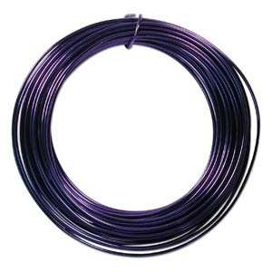 BeadSmith WCR-4106 Aluminum Craft Wire, Royal Blue, 12 gauge