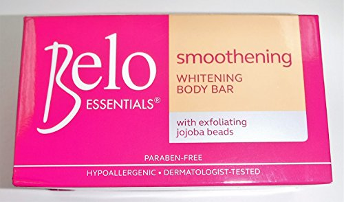 Belo Essentials Smoothing Whitening Body Soap with DermWhite Plus One Bar 135 Gm