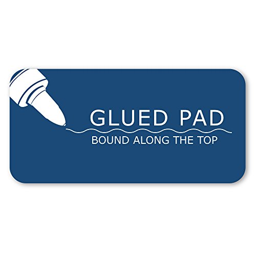 Case of 72 Gummed Pads, 8.5''x11'', 50 sheets 15# White Paper Per Pad, 12 Pads Per pack, 3-Hole Punched, glued, 4x4 graph Ruled by Roaring Spring (Image #4)