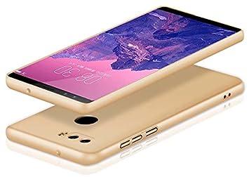 Negro Funda/® Firmness Smartphone Funda Carcasa Case Cover Caso con Anillo para Nubia Z17S
