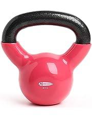 ActiveForever Kettlebell, gjutjärn kettlebell för hemträning och konditionsträning gymutrustning