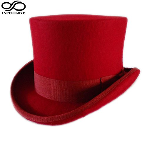 Steampunk Top Wool Felt Gentleman's Hat