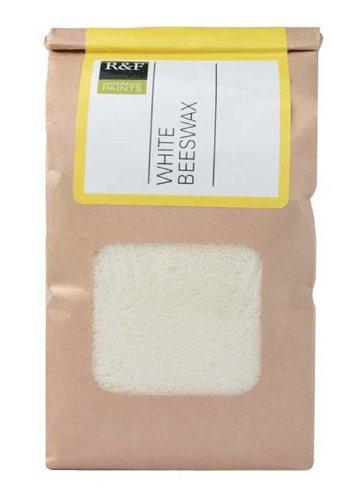 - R&F Handmade Paints Encaustic White Beeswax, 1-Pound