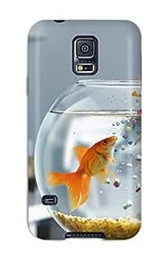 Rowena Aguinaldo Keller's Shop Best 6280960K45925887 New Design Shatterproof Case For Galaxy S5 (fish Jump)