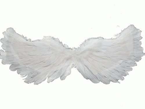 W Fashion shop Angel Feathered Wings,White Flying Swallow Wing -