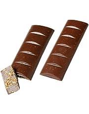 Make N' Mold 273 Bar Bark Chocolate Candy Mold, Regular, Clear