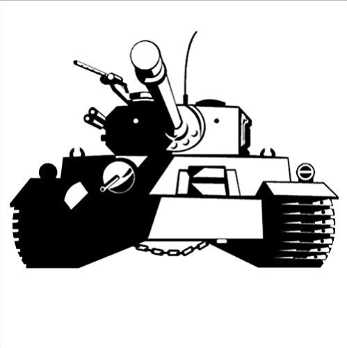 Wall Sticker Decor,Tank Art Childrens Room Home Boys Army Themed Stickers Toyroom Wall Decals PVC S 56x79cm]()