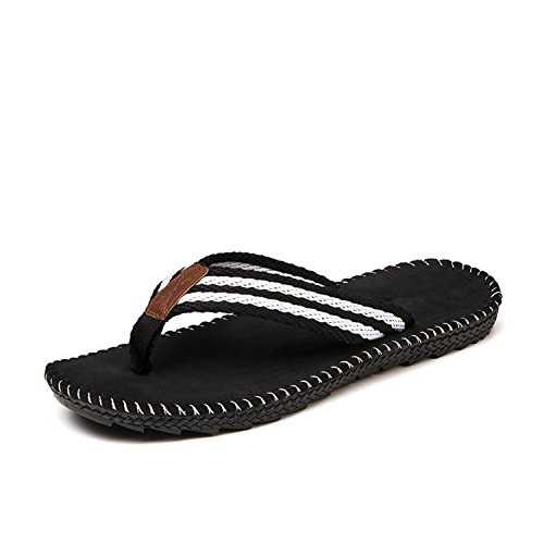 Zapatillas Sandalias Botia Hombre Verano de Cool de Chanclas Cómodas Sandalias Playa Negro p8pXqZ
