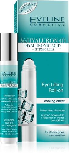 bioHyaluron 4D Augen Roll-On mit Lifting Effekt, 15 ml