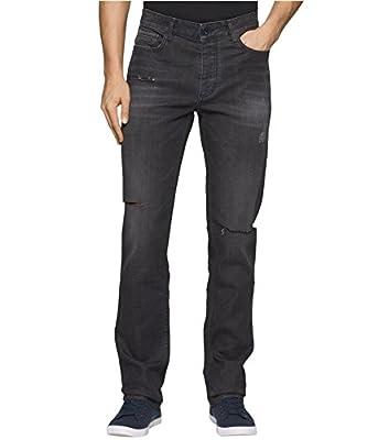 Calvin Klein Men's Slim Straight Fit Denim Jean