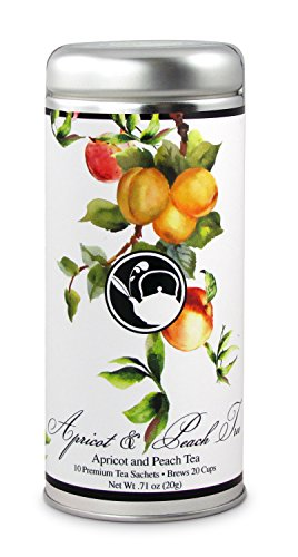 Company Green Tea (Apricot and Peach Tree Tea: All-Natural, Gluten Free, 24 servings)