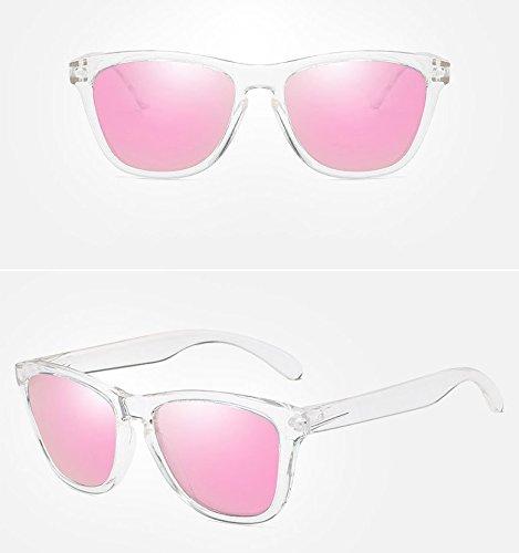 Pink sol moda conduccion Black de gafas libre al gafas sol de de polarizadas Gafas clasico la aire de de xvwUAAq