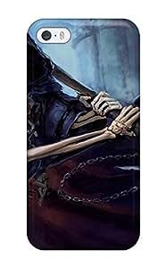 High Grade JudyRM Flexible Tpu Case For Iphone 5/5s - Grim Reaper