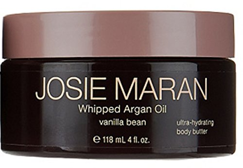 Josie Maran Whipped Argan Oil Ultra-Hydrating Body Butter (4 fl oz/118ml, Vanilla Bean) - Vanilla Body Butter
