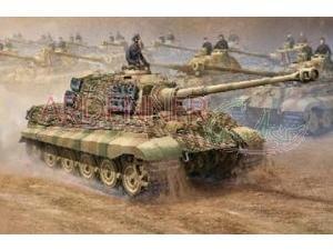 Trumpeter 1/16 German King Tiger Tank with Henschel and Porsche Turrets from Stevens International