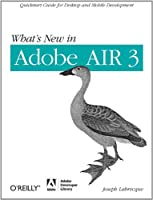 What's New in Adobe AIR 3 Front Cover
