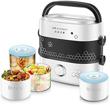 Fiambrera eléctrica Caja de almuerzo eléctrica pequeña caja de almuerzo Arroz Cocina Electrodomésticos de cocina Caja de almuerzo térmica Plato caliente Cocina de arroz caliente