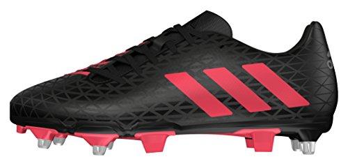 Stivali Da Rugby Adidas Aw16 Malice Elite Sg - Nero / Nero Shock Rosso