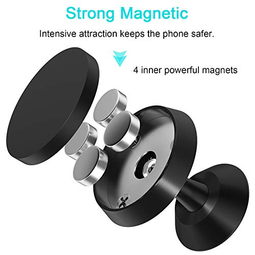 Car Phone Mount Magnetic Cell Phone Holder for Car