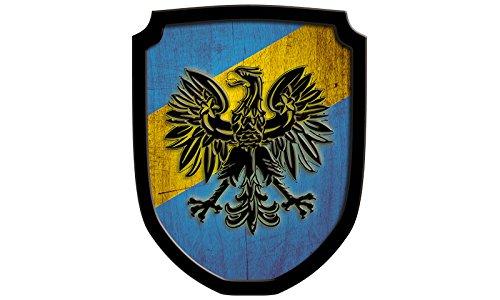Holzspielerei Bois Gadget 33550Plaque de B–Armoiries Aigle Bleu 33550-B