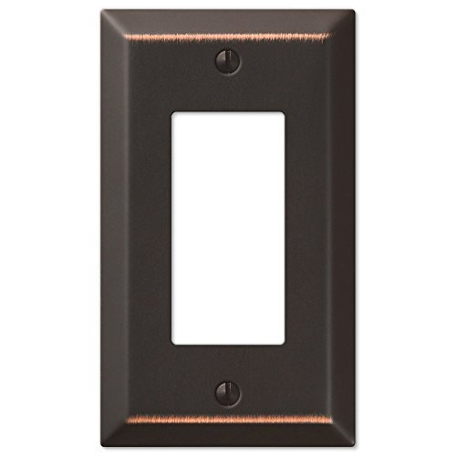 HowPlumb Traditional Design Wall Switch Plates and Outlet Cover Oil Rubbed Bronze