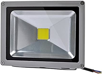 Proyector LED 20w Exterior IP65 Luz Neutra(4500ºK): Amazon.es ...