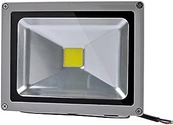 Proyector LED 20w Exterior IP65 Luz Neutra(4500ºK): Amazon.es ...