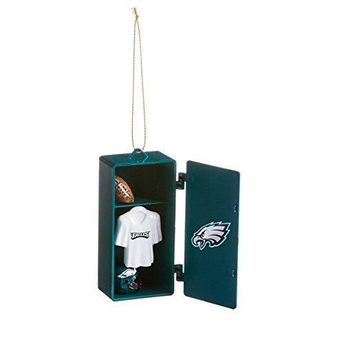 Team Sports America 3OT3823LKRB Philadelphia Eagles Team Locker Ornament