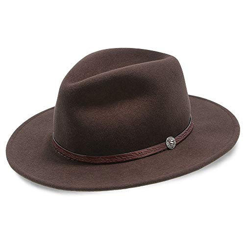 Stetson and Dobbs TWCMWL-8824 Men's Cromwell Cowboy Hat, Mink - 7