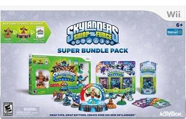 Skylanders SWAP Force Super Bundle Nintendo