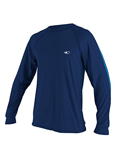 O'Neill men's Tech 24/7 long sleeve 2XL Navy/pacific (4242) (Best Snorkeling In The Pacific)