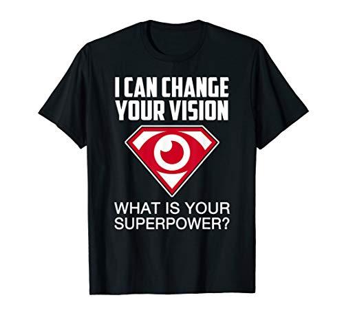 Optometry Shirts Optometrist T-shirt Men Women Gift Doctor