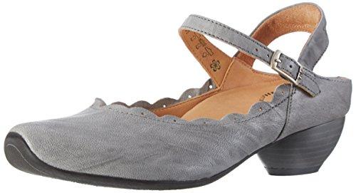 Think Aida, Zapatos de Talón Abierto para Mujer Gris (elefant 16)