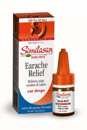 Similasan Earache Relief Ear Drops, .33-Ounce Bottles (Pack of 3)