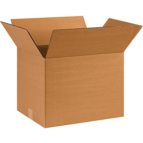 BOX USA B16121250PK Corrugated Boxes, 16