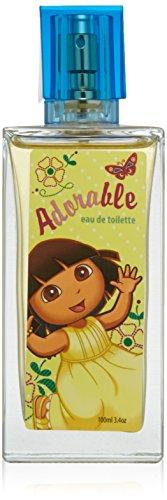 Dora the Explorer Adorable by Marmol & Son for Kids - 3.4 oz EDT Spray ()