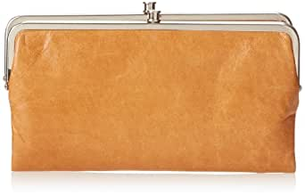 HOBO Vintage Lauren Wallet,Caramel,One Size