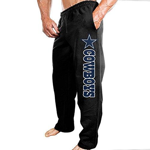 SSDDFF Men's Dallas American Football Team Cowboys Soft Leisure Sweatpants Leisure Wear Size XXL (Dallas Cowboys Shorts)