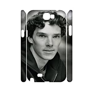 C-EUR Benedict Cumberbatch Customized Hard 3D Samsung Galaxy S5 I9600/G9006/G9008