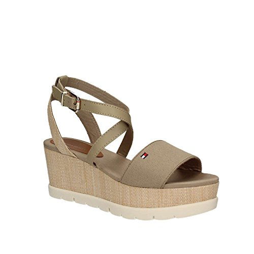 Tommy Hilfiger FW0FW02030 Zapatos De Cuña Mujer 37