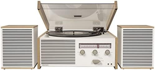 Tocadiscos Crosley Switch II - Natural: Amazon.es: Electrónica