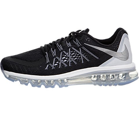 best service 8806a 8856f Galleon - NIKE Women s Air Max 2015 Running Sneakers Shoes-Black Reflective  Silver-8.5