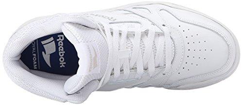 Zapato Reebok Royal Bb4500 Hola Baloncesto blanco y acero