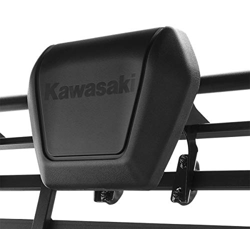 KAWASAKI MULE SX FX FXR MX DX HEADREST WITH LOGO (1) - BLACK - 99994-0859