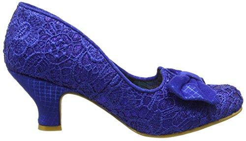 Femme Dazzle Ax Escarpins Razzle blue Bout Fermé Choice Bleu Irregular wBxSYq