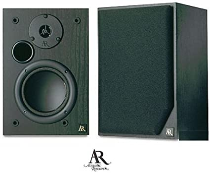 Amazon Com Acoustic Research Ar215psb 5 1 4 2 Way Bookshelf Speakers Discontinued By Manufacturer Home Audio Theater