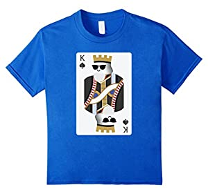 King of Sunglasses Poker Card Emoji Shirt T-Shirt Tee