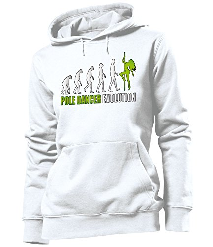 love-all-my-shirts - Sudadera con capucha - Manga Larga - Mujer Blanc / Vert
